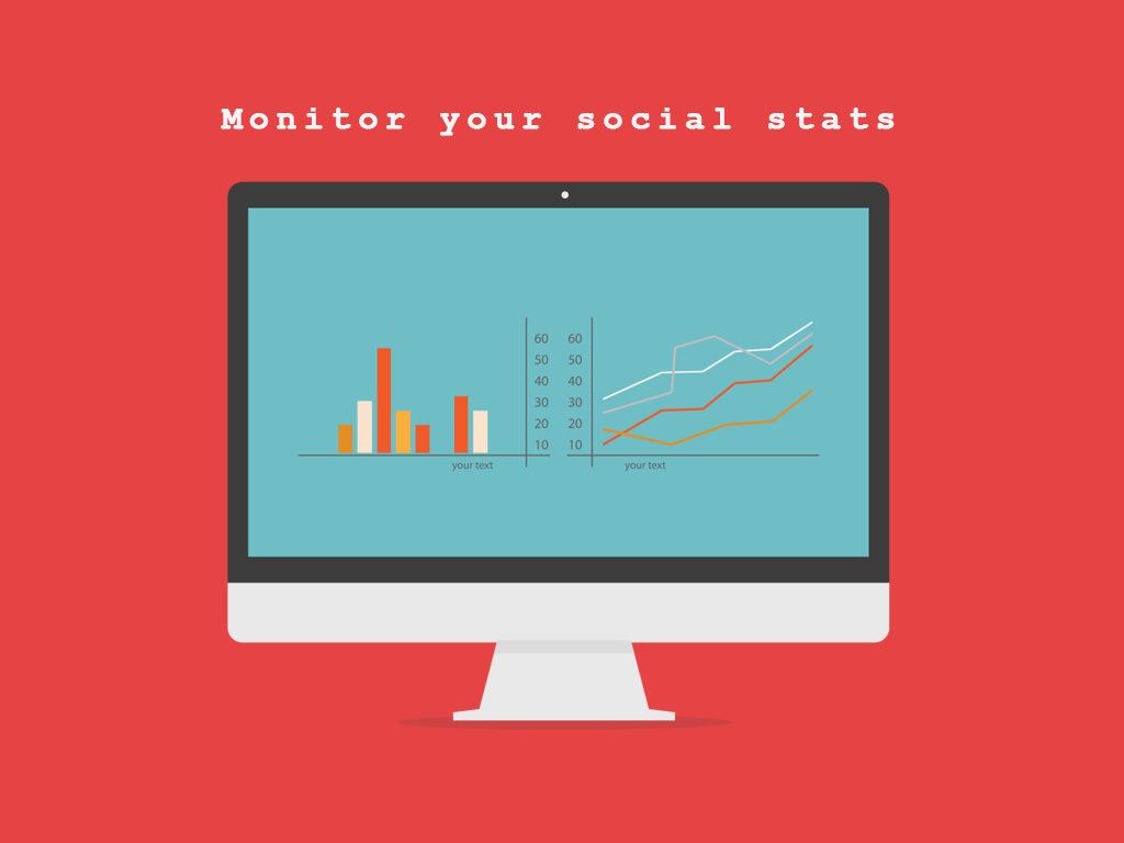 Monitor Social Stats
