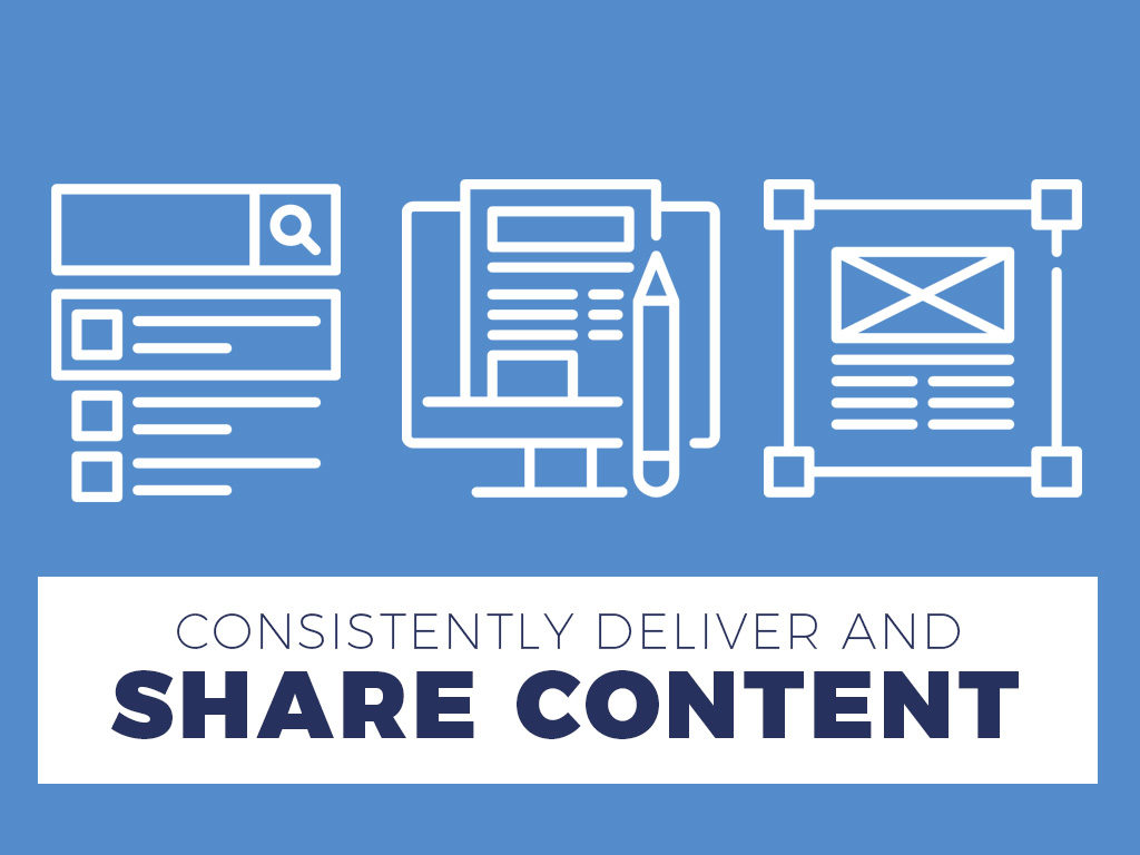 Consistently Deliver and Share Content