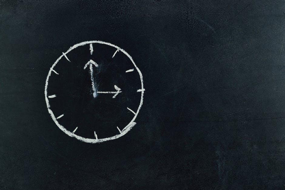 Make a timeline